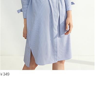 预售伊芙丽2017春季新款竖条纹衬衫女秋冬袖口蝴蝶结衬衣女